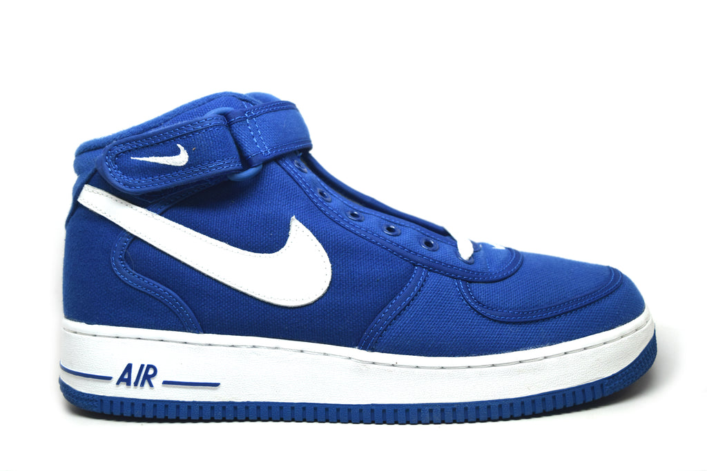 Nike Air Force 1 Mid Canvas Sport Royal