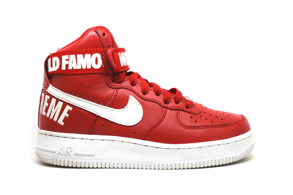 Nike Air Force 1 High Supreme SP Red