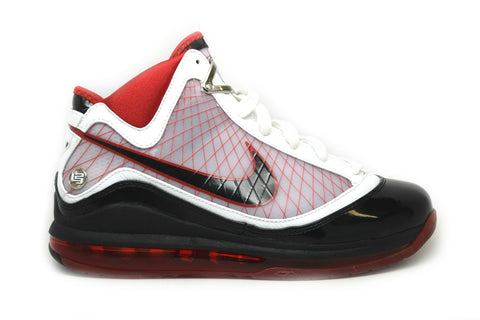 Nike Air Max Lebron 7 White Black Varsity Red