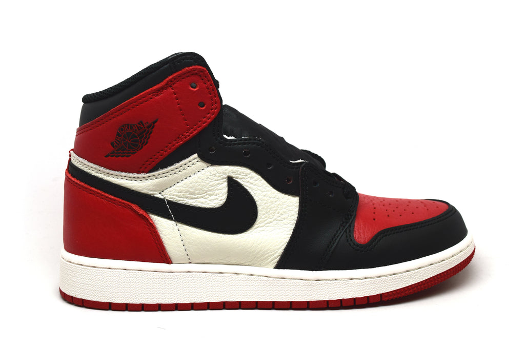 Air Jordan 1 Retro Bred Toe 2018 GS