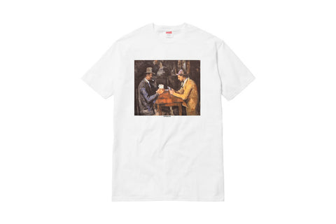 Supreme Cards Tee White