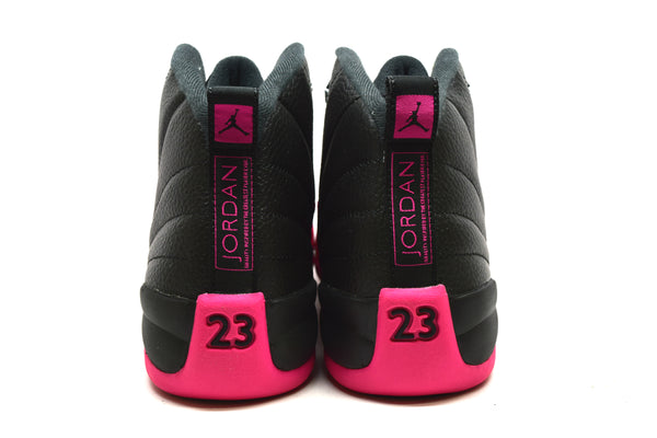 newest 628fb 8495f Air Jordan 12 Retro Black Deadly Pink GS – PRSTG SHOP