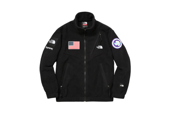 d9343063c538 Supreme The North Face Trans Antarctica Expedition Fleece Jacket Black