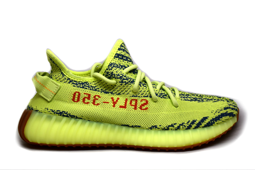 Adidas Yeezy Boost 350 V2 Semi Frozen Yellow Yebra