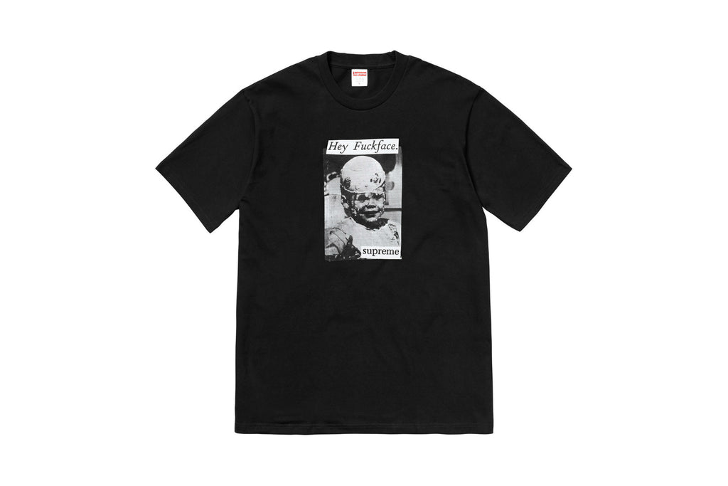 Supreme Fuck Face Tee Black