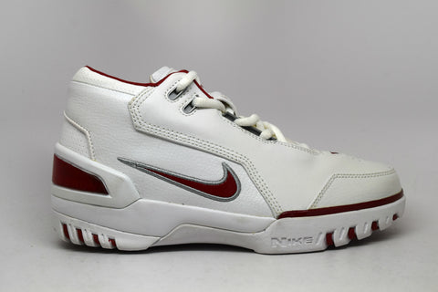 b918d7102013 Nike Air Generation Lebron White Varsity Crimson GS ...