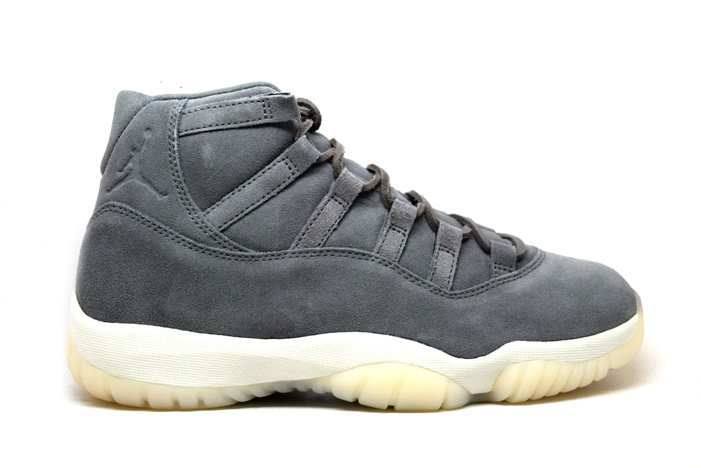 Air Jordan 11 Pinnacle Grey Suede