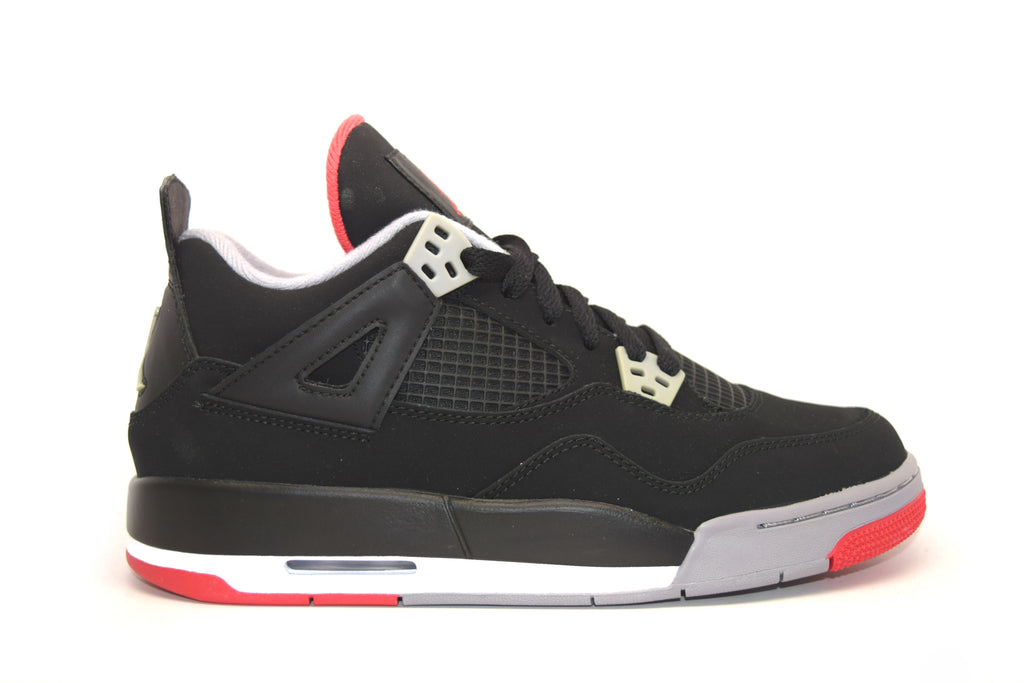 5cec0737710b32 Air Jordan 4 Retro Bred GS