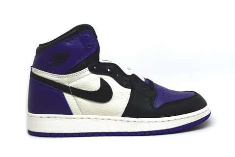 Air Jordan 1 Retro High Court Purple GS