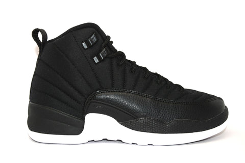 Air Jordan 12 Retro Black Nylon GS