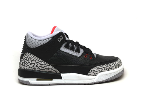 Air Jordan 3 Retro OG Black Cement GS 2018