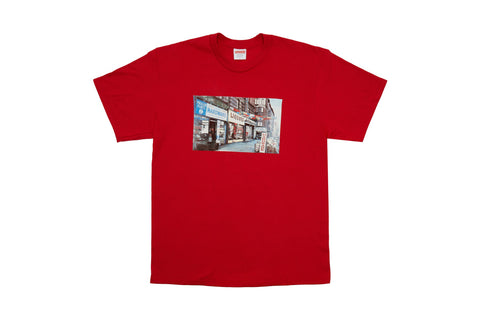 Supreme Hardware Tee Red