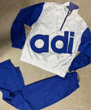 Vintage Adidas Windbreaker Set Sz Large