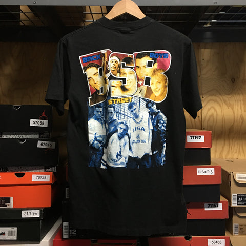 Vintage Back Street Boys Tee Sz Small