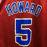 Vintage Champion Washington Bullets Juwan Howard Jersey Sz 44