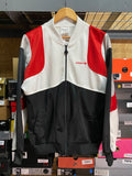 Vintage Adidas Black/White Red Zip Track Jacket Sz Large