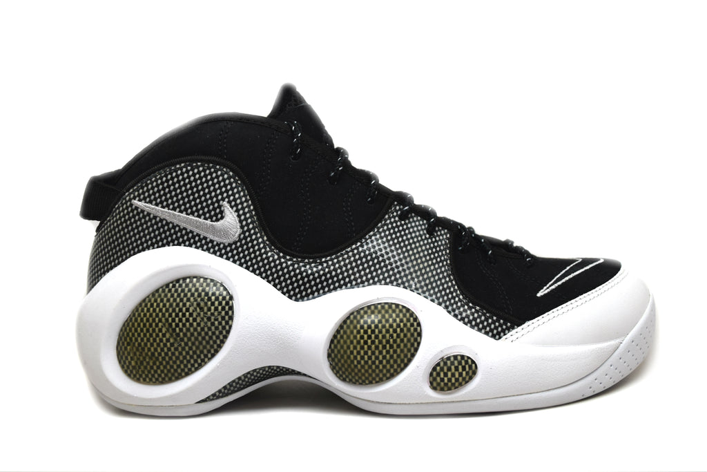 Nike Air Zoom Flight 95 Jason Kidd Black Metallic Silver