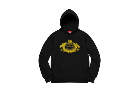 Supreme Love or Hate Hooded Sweatshirt Black