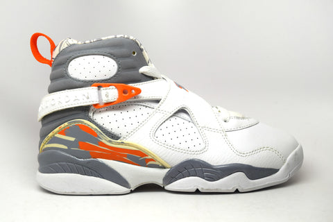 Air Jordan 8 Retro Orange Blaze GS