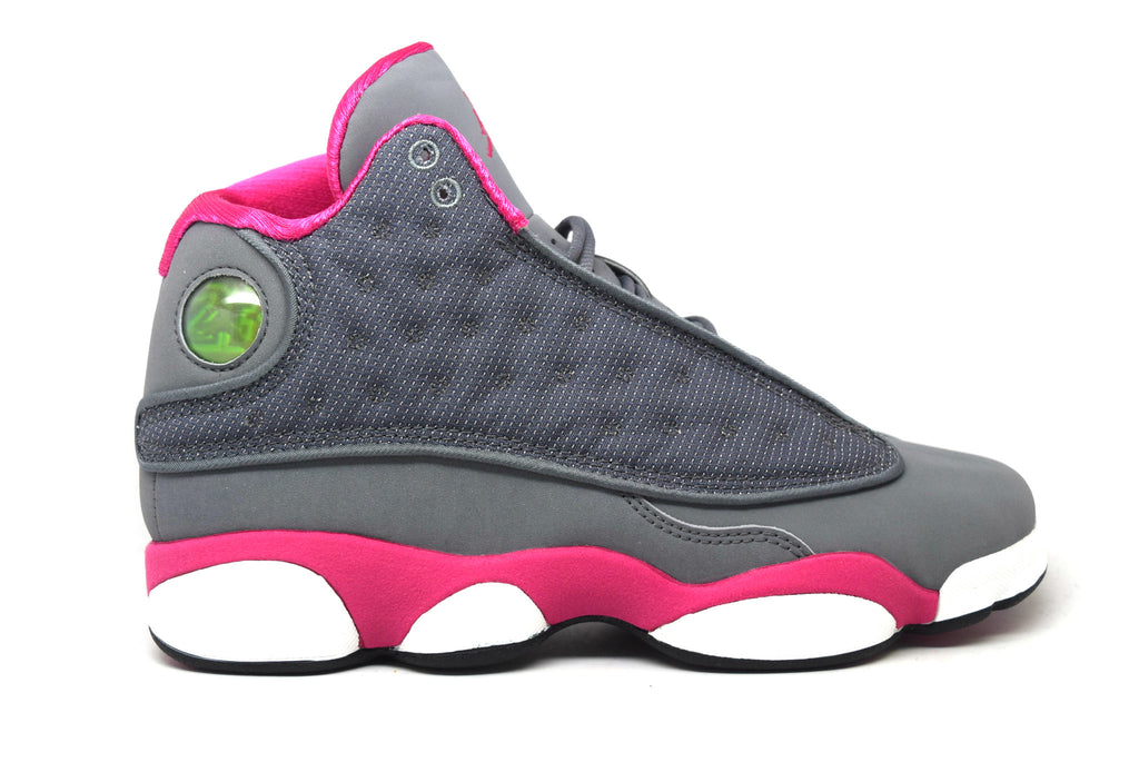 Air Jordan 13 Retro Grey/Pink GS