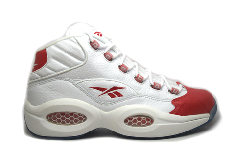 Reebok Question Mid 10th Anniversary White/Pearlized Red