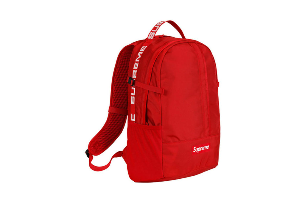 Supreme SS18 Backpack Red