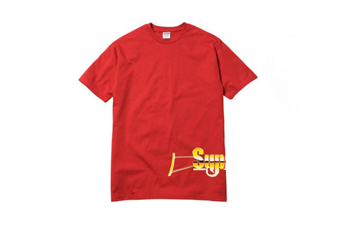 Supreme Automatic Tee Red