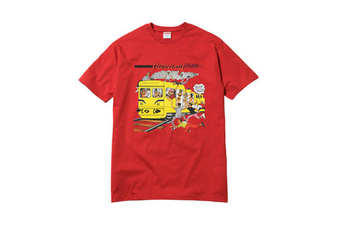 Supreme Wilfred Limonius Punany Train Tee Red