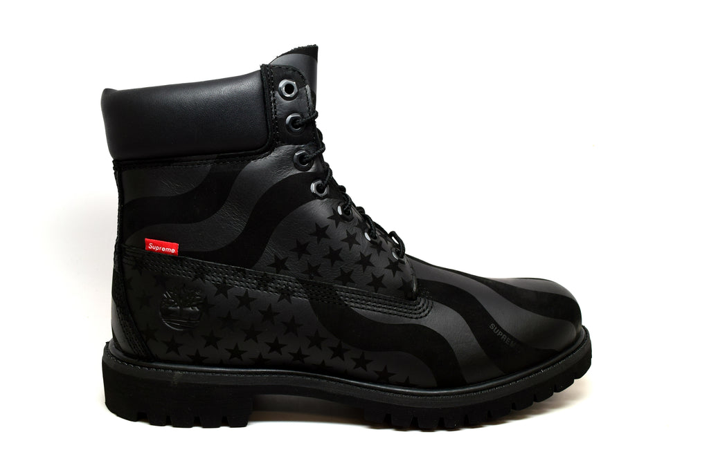 "Timberland 6"" Boot Supreme Stars and Stripes Black"
