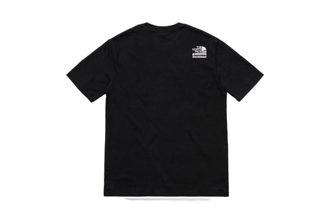 Supreme The North Face Chrome T-Shirt Black