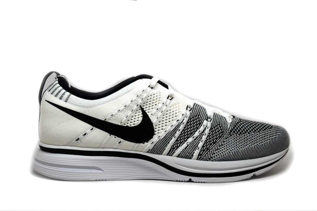 Nike Flyknit Trainer+ White Black