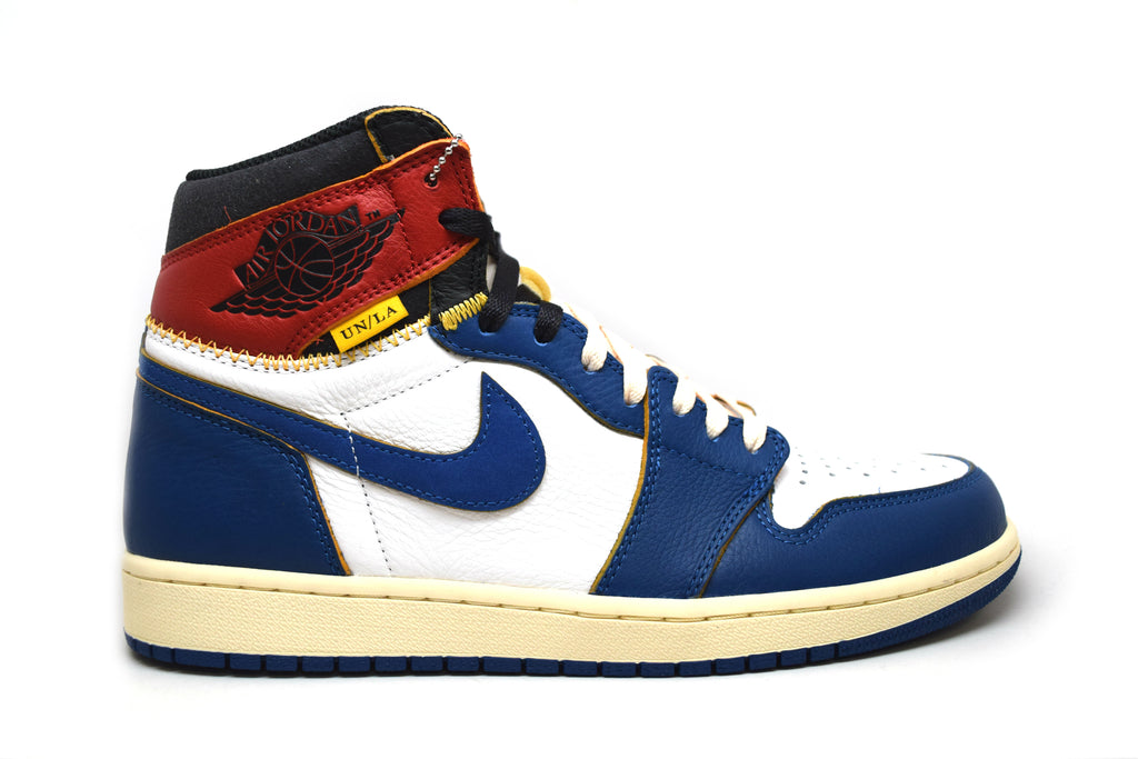 Air Jordan 1 Retro High Union Los Angeles Blue Toe