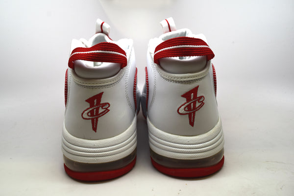 the latest 61d0e 3f65c ... Nike Air Max Penny 1 White Varsity Red