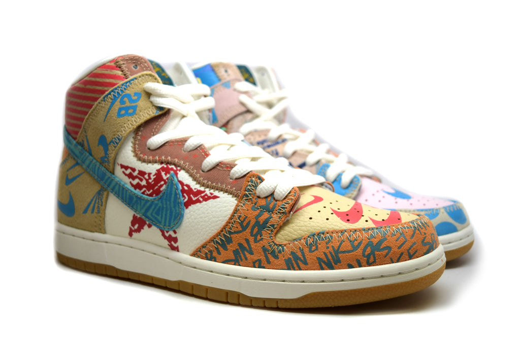 Nike Dunk High What The Dunk Thomas Campbell