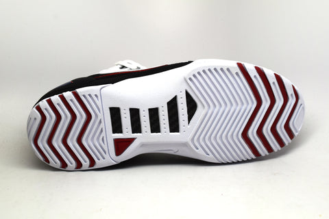Nike Air Zoom Generation White Varsity Crimson Black Retro