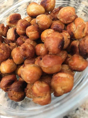 Organic Toasted Chickpeas - Simple and Delicious