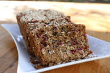 Cranberry Oat Bread - Simple and Delicious