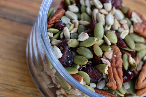 Pumpkin Sunflower Trail Mix - Simple and Delicious