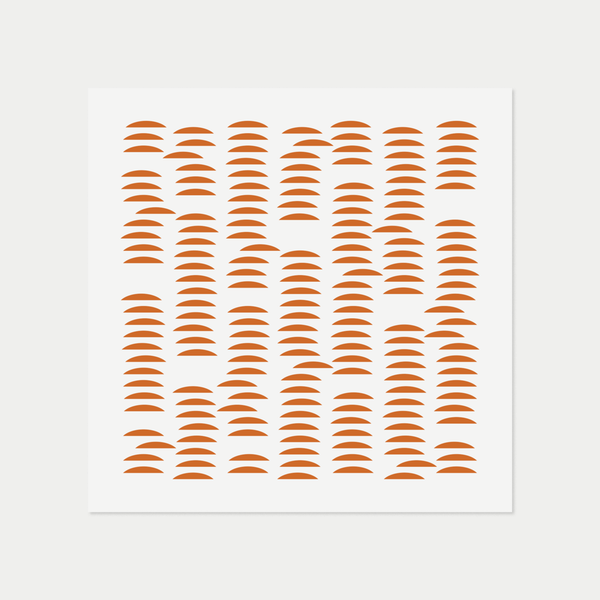 Pattern Abstract | Orange
