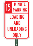 15 Minute Loading Unloading - Sign Wise