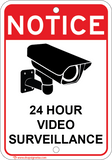 Notice 24 Hour Video Surveillance - Sign Wise