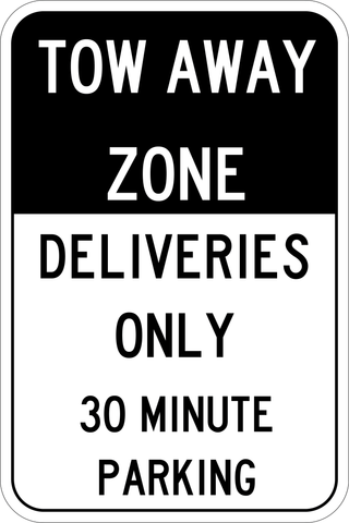 Deliveries Only - Sign Wise