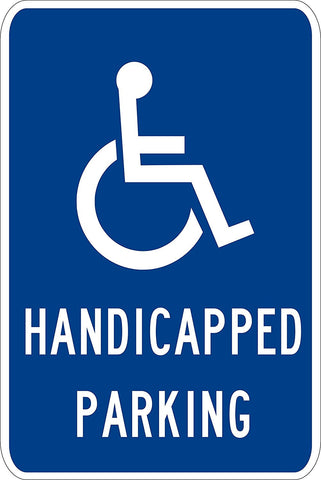 Handicapped Parking Hi-Primsatic - Sign Wise