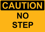 No Step - Sign Wise