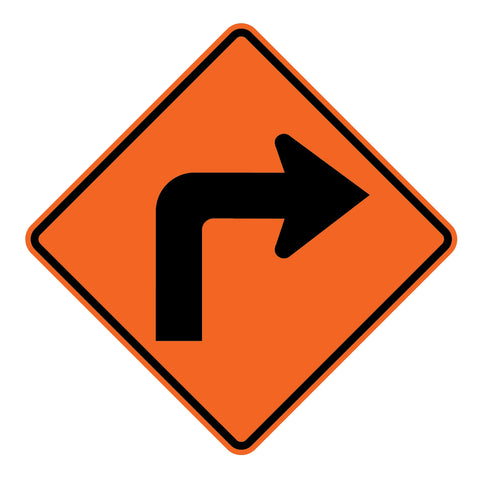 Left/Right Turn W1-1 - Sign Wise