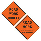 Road Work (custom Feet W20-1 - Sign Wise