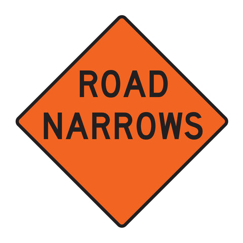 Road Narrows W5-1 - Sign Wise