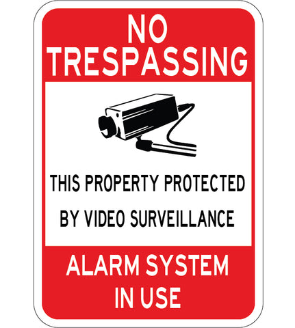 Video Surveillance Alarm System in Use