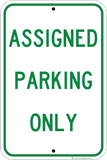 Assigned Parking Only - Sign Wise