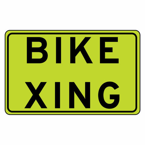 Bike Crossing - Sign Wise